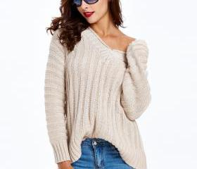 V-neck Sweater Pullo..
