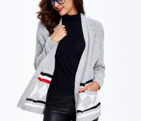 Geometric Sweater Gr..