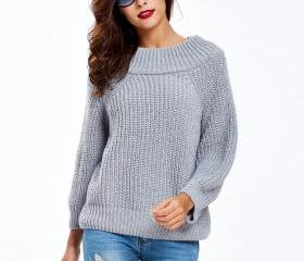 Off Shoulder Sweater..